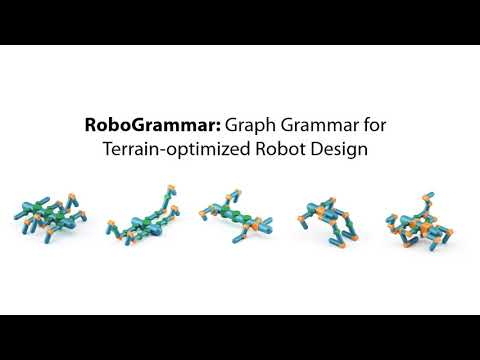 RoboGrammar: Graph Grammar for Terrain-Optimized Robot Design