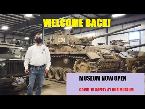 Welcome Back! Visiting the Museum during COVID-19