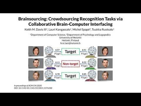 Brainsourcing: Crowdsourcing Recognition Tasks via Collaborative Brain Computer Interfacing (Teaser)