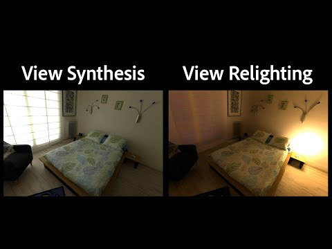 Free-viewpoint Indoor Neural Relighting from Multi-view Stereo