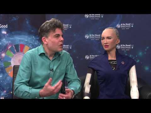 AI FOR GOOD 2018 INTERVIEWS: DAVID HANSON, Founder and CEO, Hanson Robotics, and SOPHIA