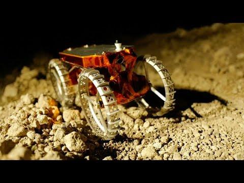 Astrobotic Sends First Lunar CubeRover to NASA