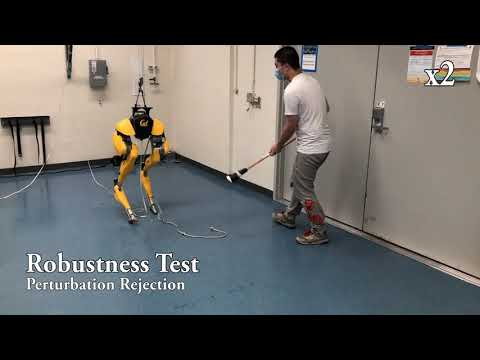 Reinforcement Learning for Robust Parameterized Locomotion Control of Bipedal Robots