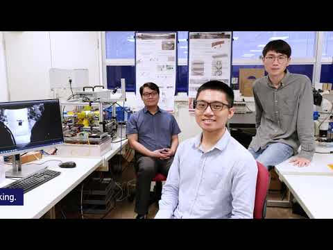 Grain-sized robots made by NTU Singapore scientists