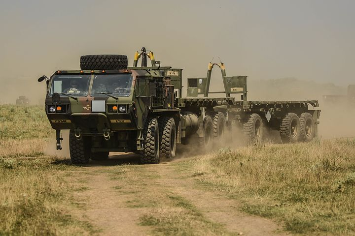 Robots Take Part in Military Drills