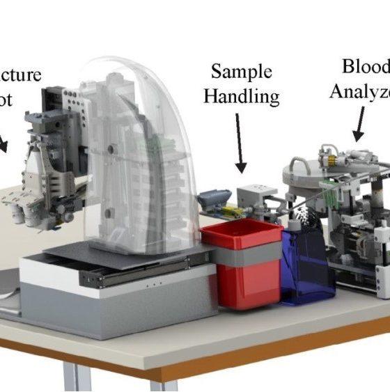 Team Develops Blood-Sampling Robot