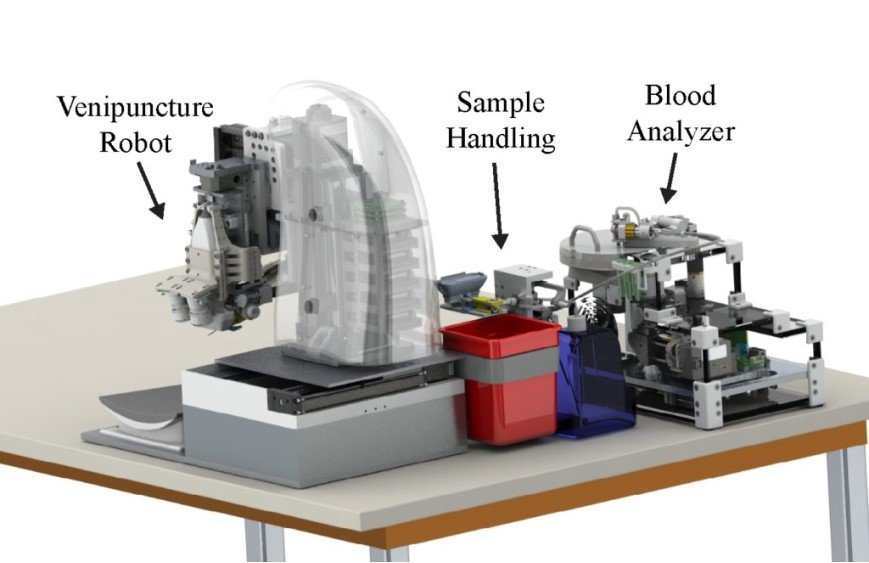 Team Develops Blood-Sampling Robot