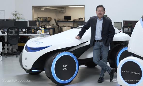 William Santana Li, CEO of Knightscope - Interview Series